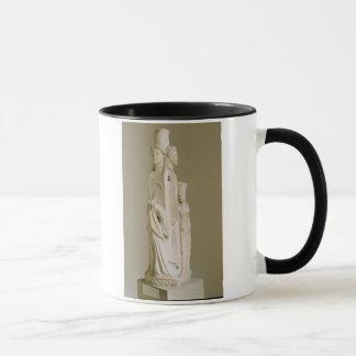 Herm triforme de Hecate, sculpture de marbre, pe Mugs