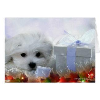 Hermes la carte de voeux maltaise de Noël