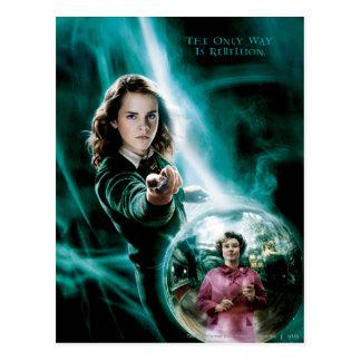 Hermione Granger et professeur Umbridge Carte Postale