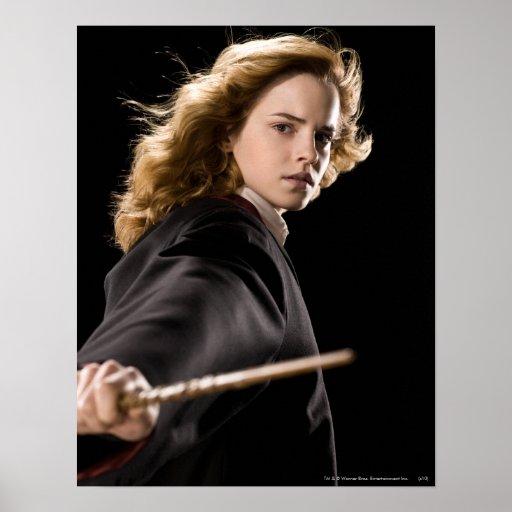 Hermione Granger prêt pour l'action Poster
