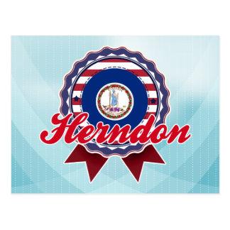 Herndon, VA Carte Postale