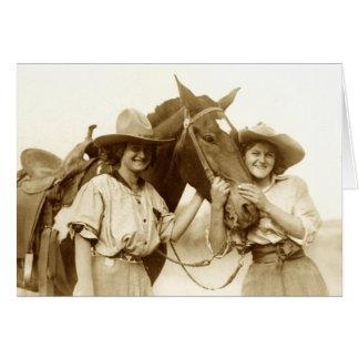 Héroïnes de cuir vert cartes