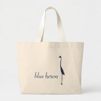 héron bleu grand sac