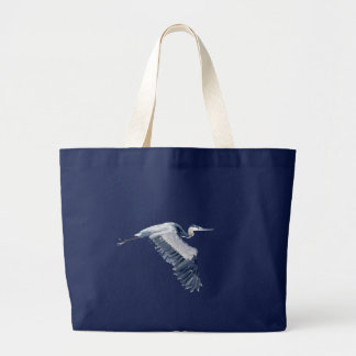 héron grand tote bag
