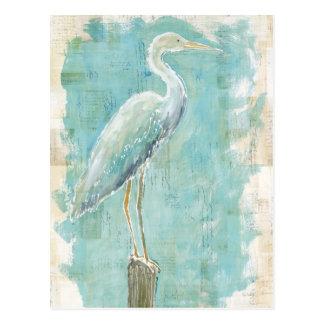 Héron tropical des oiseaux | toujours carte postale