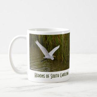Hérons de Sc de Charleston Mug