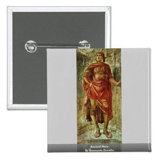 Héros antique par Bramante Donato Pin's