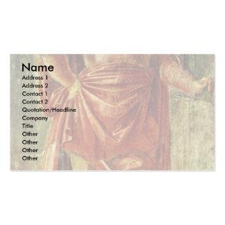 Héros antique par Bramante Donato Modèle De Carte De Visite