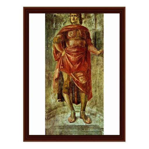 Héros antique par Bramante Donato Cartes Postales