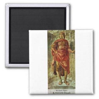 Héros antique par Bramante Donato Aimant Pour Réfrigérateur