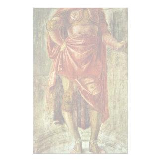 Héros antique par Bramante Donato Papier À Lettre Customisable