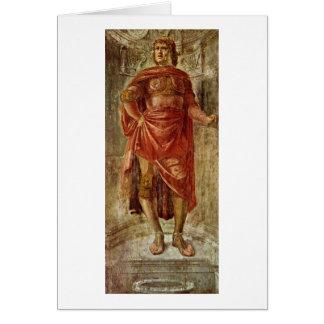 Héros antique par Donato Bramante Cartes