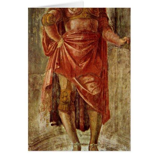 Héros antique par Donato Bramante Carte De Vœux