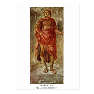 Héros antique par Donato Bramante Carte Postale