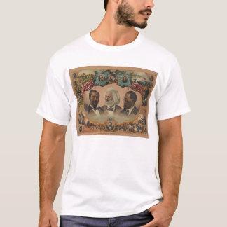 Héros de la course colorée Frederick 1881 Douglass T-shirt