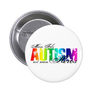 Héros de lundi Fils - autisme Badge