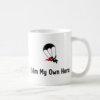 Héros de parachutage mug