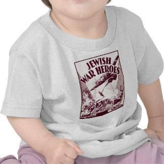 Héros juifs de guerre t-shirt