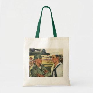 Héros patriotes vintages, effectifs militaires sac
