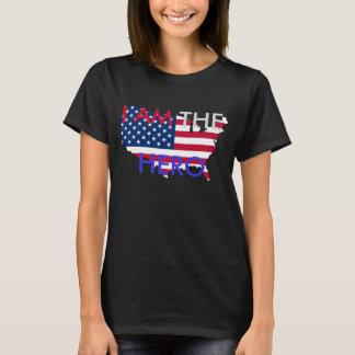 """Hetalia Amérique """"JE SUIS T-shirt du HÉROS"""""""