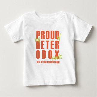 hétérodoxe fier t-shirt pour bébé