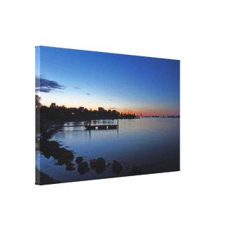 Heure bleue scandinave toiles