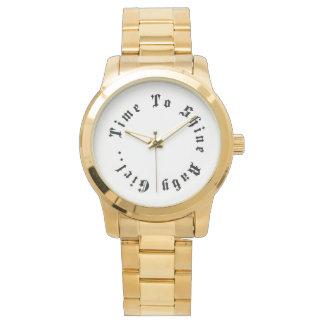 Heure de briller la montre de Karnavali de
