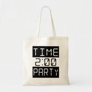 Heure de party sacs