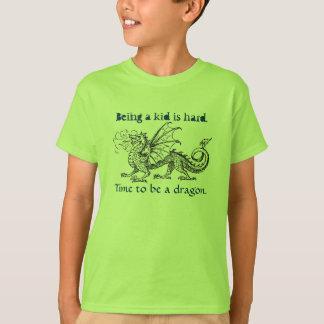 """""""Heure d'être le T-shirt d'une fille de dragon"""""""