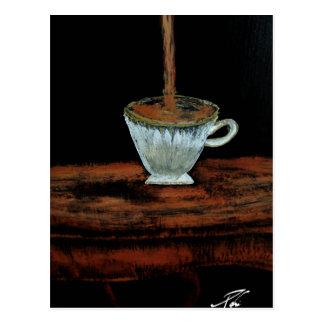Heure du thé cartes postales