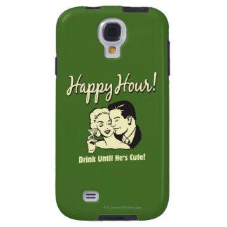 Heure heureuse : Buvez jusqu'à ce qu'il soit migno Coque Galaxy S4