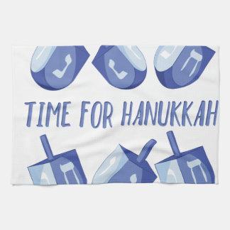 Heure pour Hanoukka Linge De Cuisine