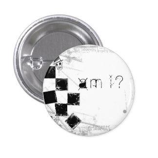 HEURES DU MATIN i ? bouton Badge Rond 2,50 Cm