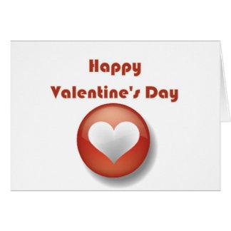 Heureuse Sainte-Valentin Carte De Vœux