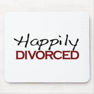 Heureusement divorcé tapis de souris