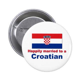 Heureusement marié à un Croate Badge