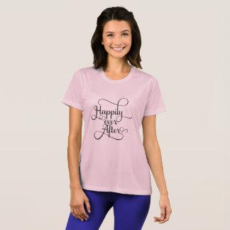 Heureusement pour toujours, épouser ou conte de t-shirt