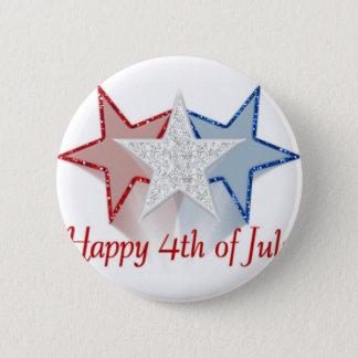 Heureux 4 juillet badge