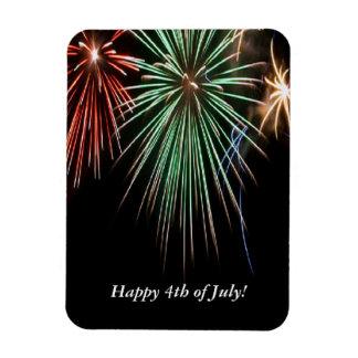 Heureux 4 juillet ! magnet en vinyle