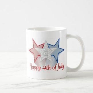 Heureux 4 juillet mug