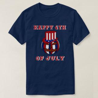Heureux 4 juillet t-shirt