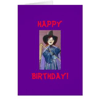 Heureux, anniversaire ! Carte humoristique !