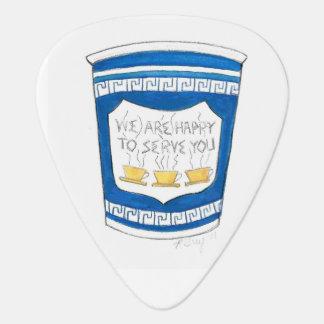 Heureux de vous servir NYC tasse de café grecque Onglet De Guitare