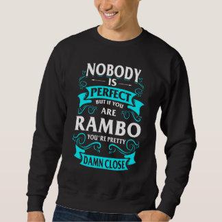 Heureux d'être T-shirt de RAMBO