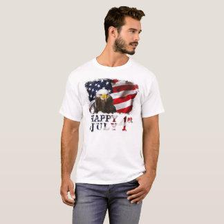 Heureux le ęr juillet t-shirt