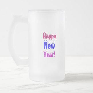 Heureux, nouveau, année ! - Tasse givrée
