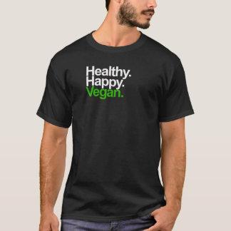 Heureux. Sain. Vegan. T-shirt