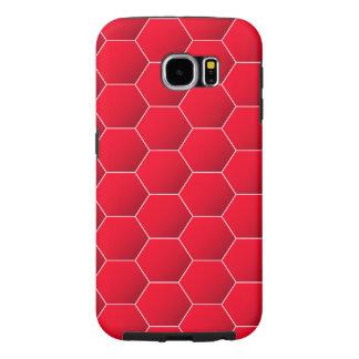 Hexagone rouge