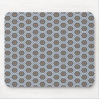 Hexagones multi de couleurs. Modèle de maille de Tapis De Souris