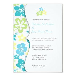 HibiscusWedding tropical ou invitations nuptiales